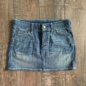 Citizens of Humanity 'Dunaway' Denim Mini Skirt